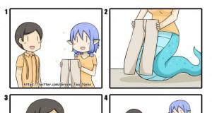 Gdy syrena chce nosić spodnie
