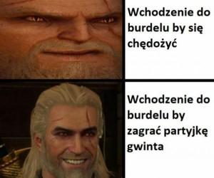 Geralt to jednak porządny chłop jest