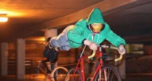Superbohater na rowerze