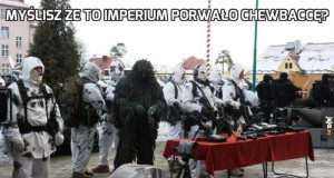 Myślisz że to Imperium porwało Chewbaccę?