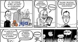Steve Jobs i reinkarnacja