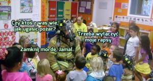 Jak ugasić pożar