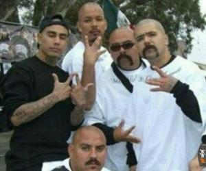 Twardy meksykański gang