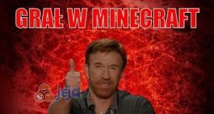 Grał w minecraft