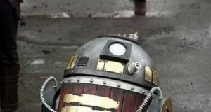 Steampunkowy R2D2