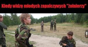 Małoletni wojacy