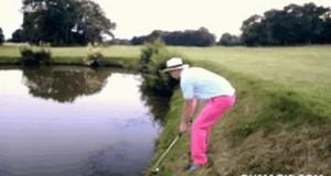Zawodowy golfista