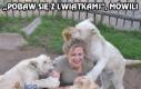 Praca w zoo bywa stresująca