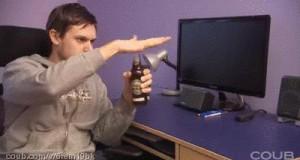 Sposób na otworzenie butelki