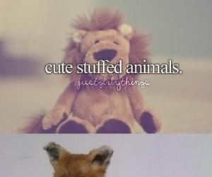 Słodkie, wypchane zwierzęta