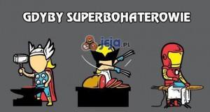 Gdyby superbohaterowie musieli normalnie pracować