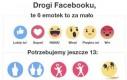 Nowe emotki na FB