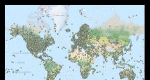 Mapy przedstawiają miejsca ukrycia skrytek geocache