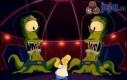 Homer spotyka obcych