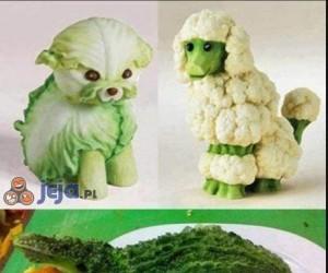 Warzywne zwierzątka