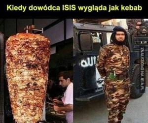 Gdy dowódca ISIS wygląda jak kebab