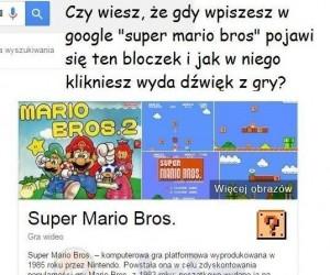 Mario w Google