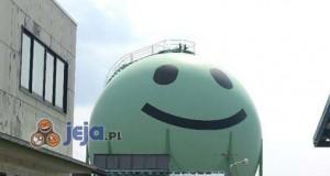 W Japonii dekorują zbiorniki na gaz