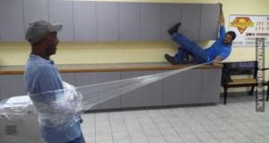 Haha, jestę Spidermenę