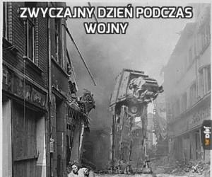 Zwyczajny dzień podczas wojny