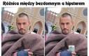 Różnica między bezdomnym a hipsterem