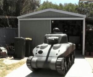 Taki tam, domowy czołg