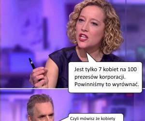 Peterson vs feministka