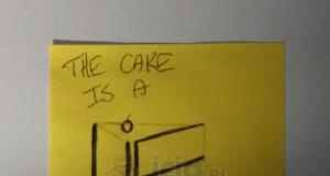 Ciasto to kłamstwo