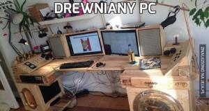 Drewniany PC