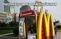 Najmniejszy McDonald's świata