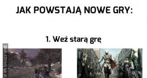 Jak powstają nowe gry