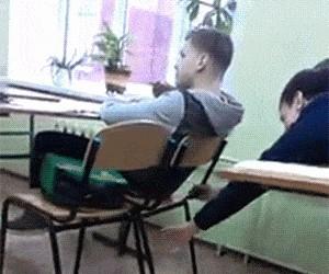 Ach, te wygłupy w szkole