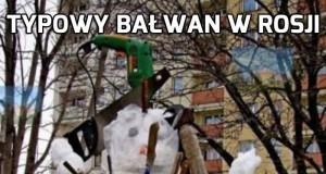 Rosyjski bałwan