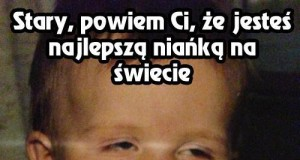 Zjarany Zbyszek i opieka nad dziećmi