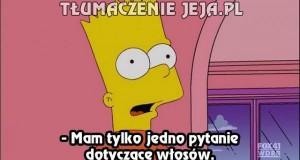 Gdy Simpsonowie zaczną za dużo myśleć...