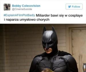 Zabawy Batmana