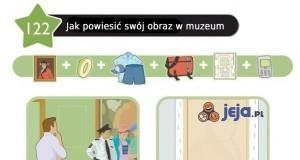 Jak powiesić swój obraz w muzeum