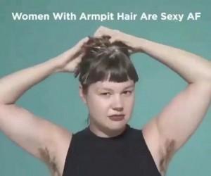 Lubicie owłosione pachy u kobiet?