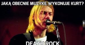 Jaką obecnie muzykę wykonuje Kurt?