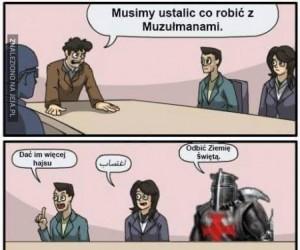 Problem z Muzułmanami