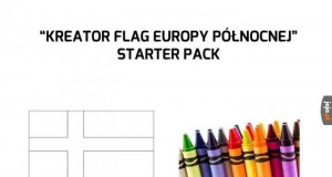 Zestaw startowy kreatora flagi państwa Północnej Europy
