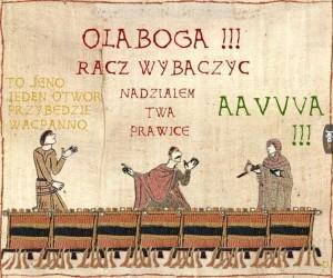 Sztuczka z gwoździem w średniowieczu