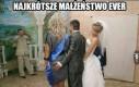 Najkrótsze małżeństwo ever