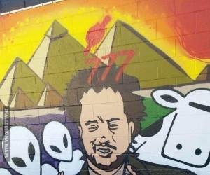 Kosmici na muralu