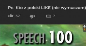 Polska społeczność pod zagranicznymi filmikami