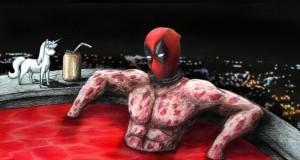 Deadpool w basenie ironii
