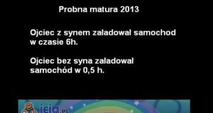 Próbna matura 2013