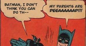 Nie ważne jak. Ważne, że Batman