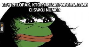 Gdy chłopak, który Ci się podoba, daje Ci swój numer