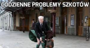 Codzienne problemy Szkotów